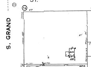 Sanborn Map 1950