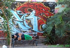 aagraffsleeper (webwandering-back.having.recovered.password) Tags: streetart argentina graffiti buenosaires wallart urbanart carole sunbathing sleeper edrich