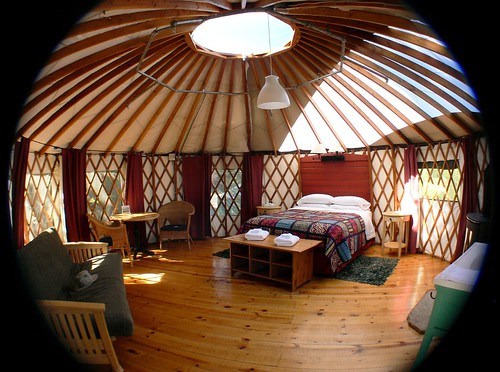 Fisheye Yurt