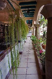 Hotel-El-Meson-de-las-Flores-hallways