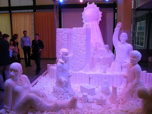 Butter, or Emulgator sculpture.