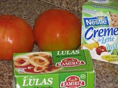 Macarrão ao Molho de Lula - Alguns Ingredientes