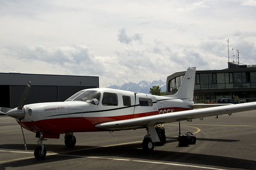 Parked at Lausanne Airfield