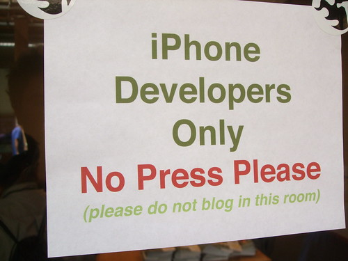 iPhone Developers only
