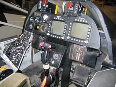 f-14 cockpit (MasterGeorge) Tags: museum river f14 aviation air cockpit naval patuxent tomcat