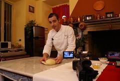Mario Ragona Backstage insieme a Italian Food Net Internationa