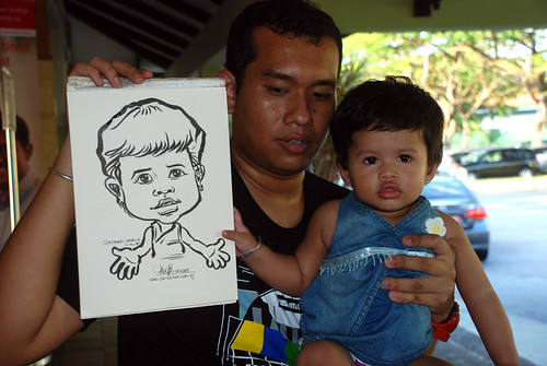 Caricature live sketching for Costa Sands Resort Day 2 - 5