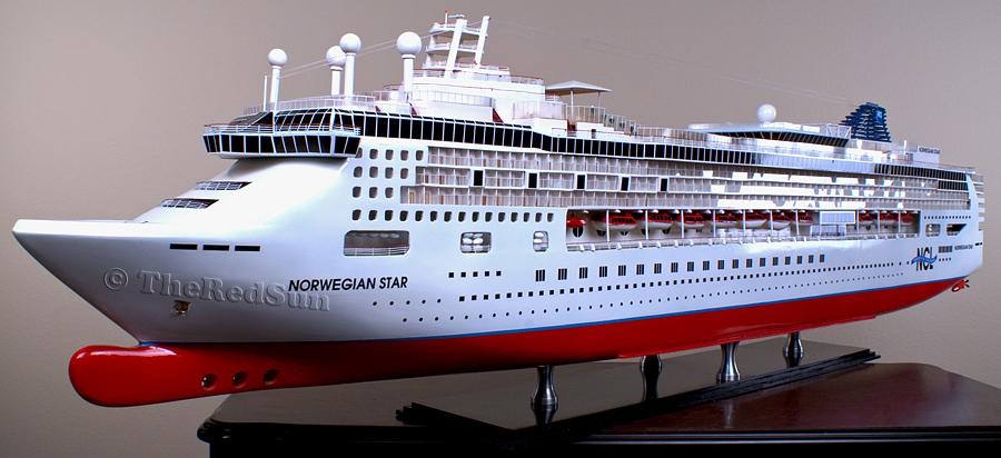 N Scale Cruise Ship Scale - Model cruise ship kits
