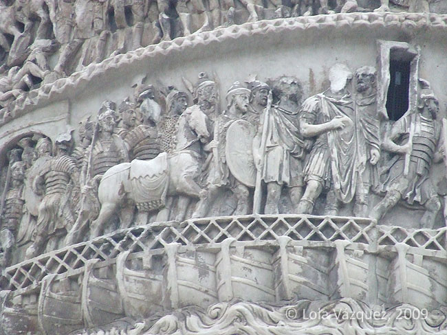 Columna de Marco Aurelio. © Lola Vázquez, 2010