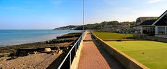 GURNARD MARSH VISTA. (ronsaunders47) Tags: coast seaside shore isleofwight walkways marsh paths seashore cowes gurnard