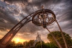 Tomorrowland Arch (~Life by the Drop~) Tags: world orlando nikon florida magic kingdom disney 28 walt tomorrowland uwa 1424 d700