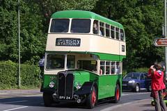 HCVS London to Brighton 2011 - 1956 AEC Regent 3 Double Deck Bus (EPV 24) (growler2ndrow) Tags: 3 bus truck coach taxi lorry trucks 1956 regent taxicab londontobrighton lorries aec hcvs historiccommercialvehiclesociety