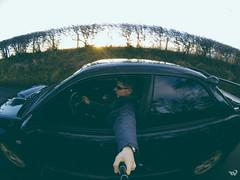 101217 (Toms_V) Tags: sun selfportrait edinburgh subaru impreza sti selfie pentland gopro hero3 blackseries