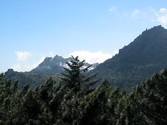Entre Barba Porca et plaine d'Uovacce :  Uomu di Cagna et Punta di Monaco