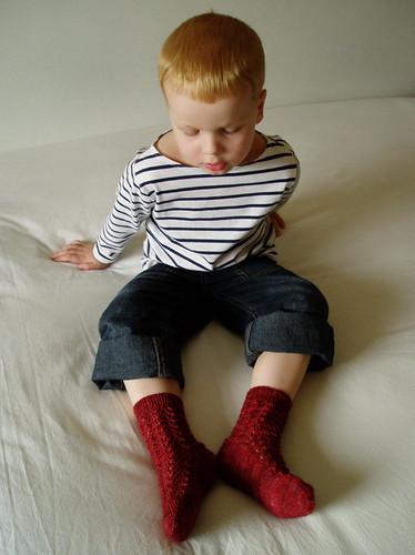 Bluebell Rib Socks