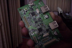 The interface/debug board