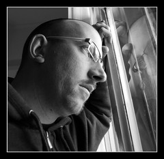 Where is my mind? (marcopesavento) Tags: portrait self nikond50 bn autoscatto riflesso 123bw passionphotography nikonstunninggallery fiveflickrfavs bymeself