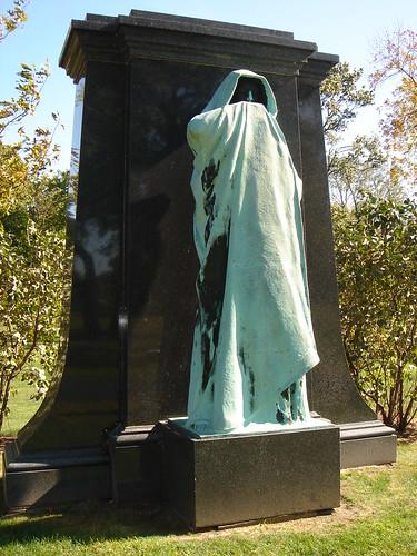 "Graceland Cemetery, ""Eternal Silence"" by Lorado Taft"