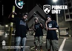 Pioneer Unit T-Shirt Promo [Robots]