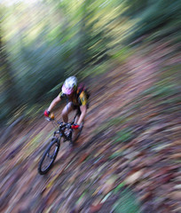 Slicin' Squirrel Gap (csnyder103) Tags: blur fall leaves colleen explore mountainbiking panning pisgah singletrack westernnorthcarolina canonefs1022 anawesomeshot squirrelgap