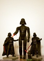 Darth Vader Clones (Co & Isa) Tags: toys starwars darthvader figures darkvador