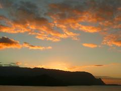 Sunset over Bail Hai from Princeville resort (andymartin826) Tags: bali hawaii kauai hai princeville