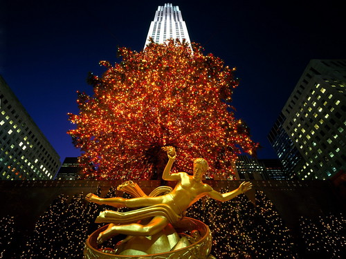 Christmas in Rockefeller Center, New York by kruhme.