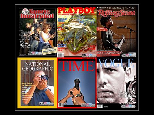 Fotos de Darco TT en las portadas de revistas
