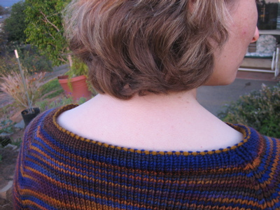 Hourglass Sweater - neckHourglass Sweater -