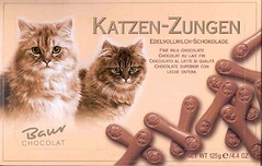 Cat Tongue-shaped Chocolate