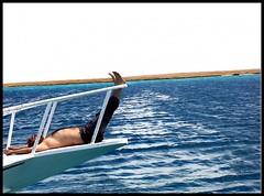 freedom (Mariem Fayed) Tags: sea relax happy photography freedom boat egypt gouna