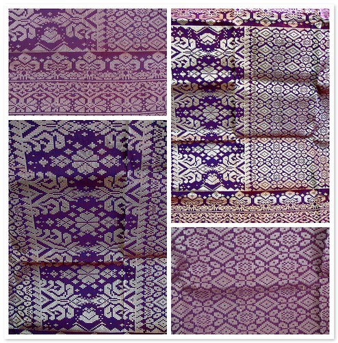 Purple Songket