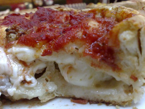 Sausage Stuffed Pizza