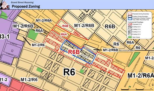 Grand Street Rezone