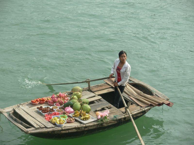 Sur l'eau-Ha Long (4)