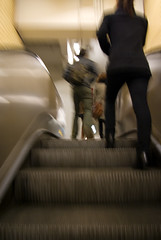 2008 - first rush out of the subway (Naiko J. Franklin) Tags: paris france delete10 delete9 delete5 delete2 delete6 delete7 mtro escalator delete8 delete3 delete newyear delete4 save save2 nouvelan ligne6 denfertrochereau i500 interestingness119 200708