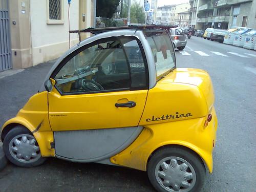 Un coche electrico