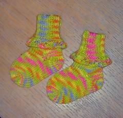 Frilly Baby Socks