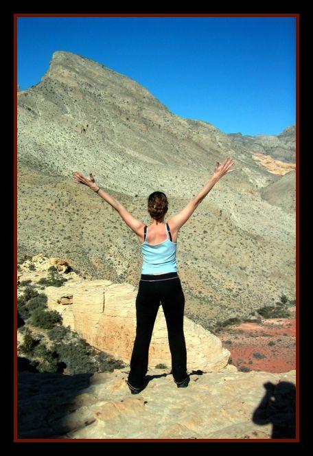 las vegas desert rock climb