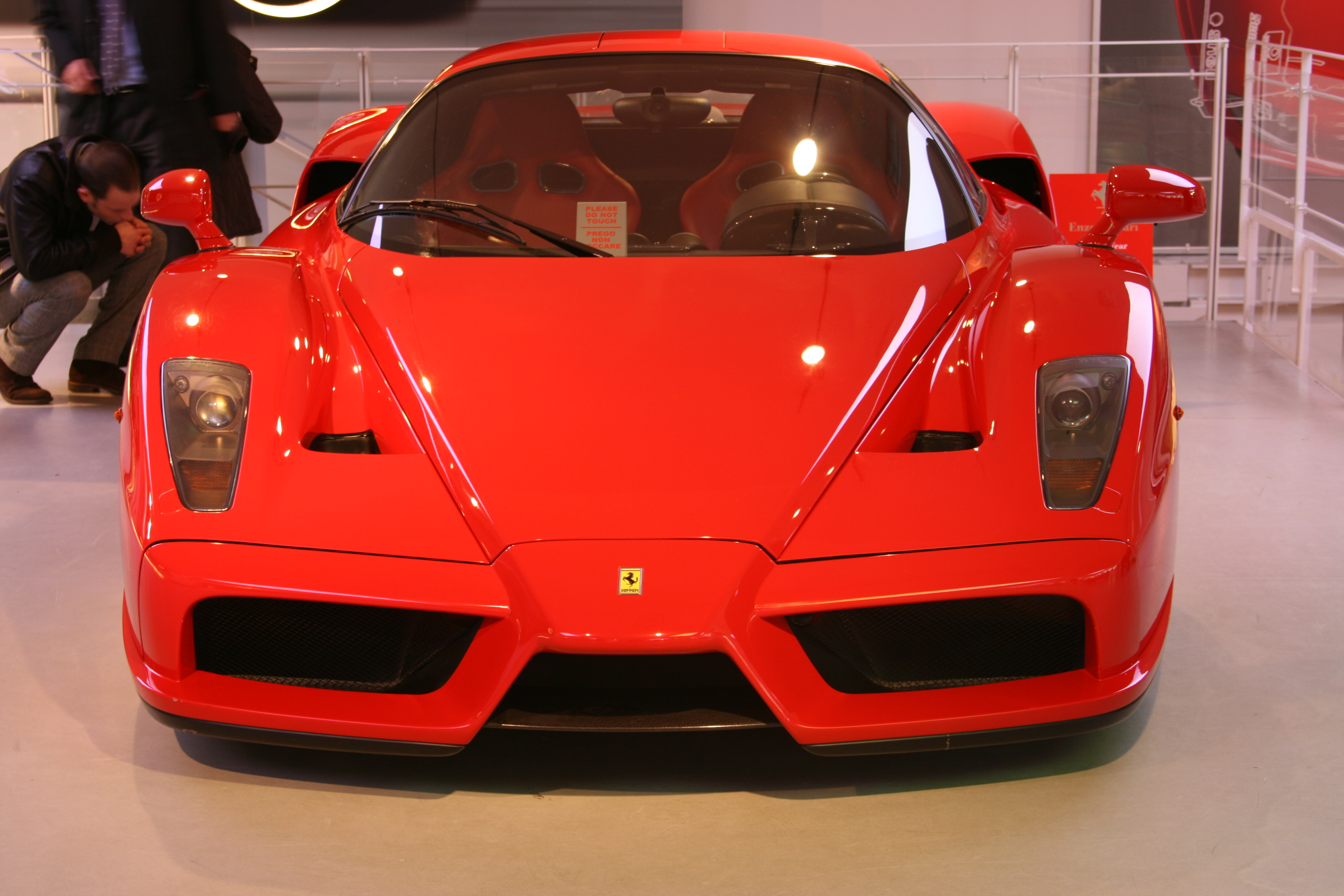 Ferrari Enzo del museo Ferrari