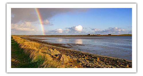Kettletoft Bay Rainbow