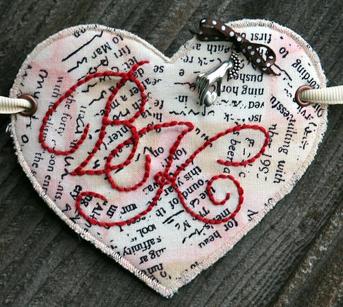 Heart garland: Final heart