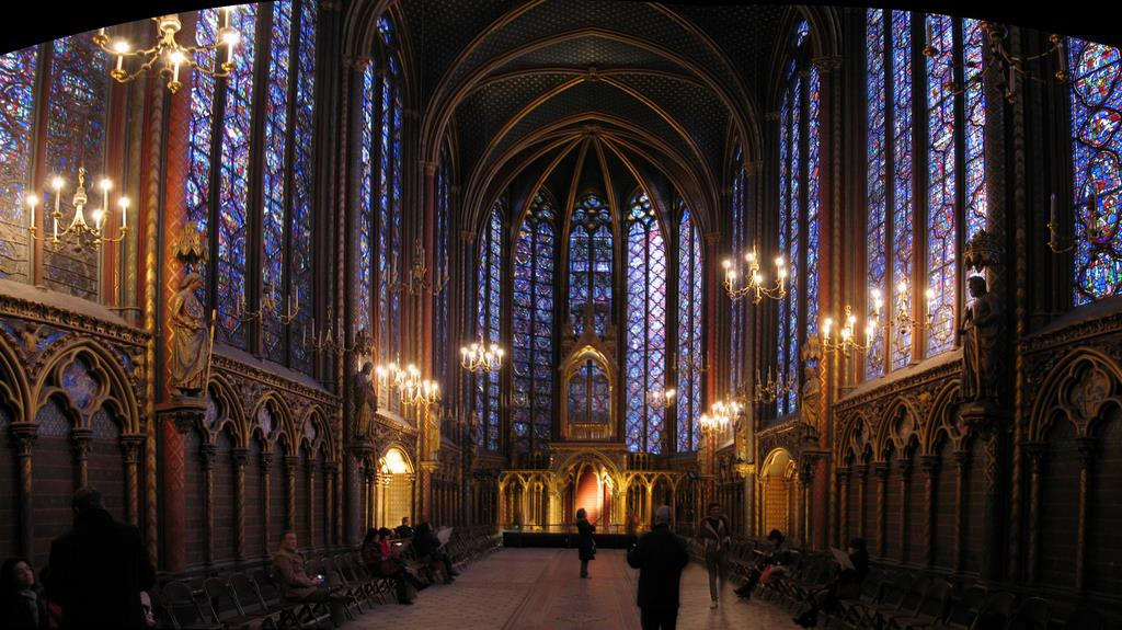Stained Glass in Sainte-Chapelle