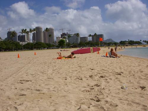 Ala Moana Beach Park people