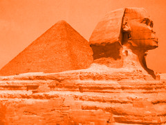 egypt icon (mypixbox) Tags: orange desert pyramid egypt sphynx cheope gizah