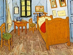 Room at Arles (Van Gogh) (uhuru1701) Tags: art paintings artists classical masters asylum vangogh masterpieces mentalillness greatworks manicdepressive