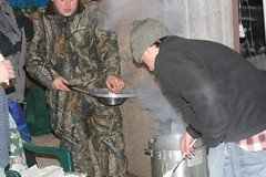 Outdoor cooking (Whazzmaster) Tags: fish fry icefishing crookedlake