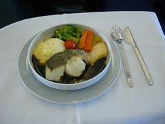 Main dish - Lufthansa LH715 NRT-MUC