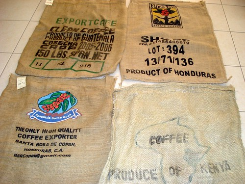 Coffee bags by you.