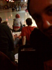 roller derby butt crack girl (drewdomkus) Tags: portrait selfportrait podcast wisconsin self drew madison roller 365 derby year1 dawnanddrew iphone podshow madrollindolls 365days reservoirdolls domkus dnd365 bustacrimes